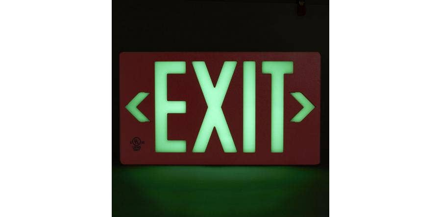 What are Different Types of Exit Signs?