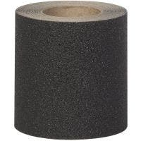 "Safety Track® Ruff-N-Tuff™ Black Anti-Skid Grit 6"" x 30' Roll 2/cs"