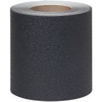 "Safety Track® Medium Resilient Vinyl Anti-Slip Black 6"" X 60' Roll 2/cs"