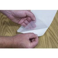 Anti-Slip Medium Resilient Vinyl #3530 Clear Rolls