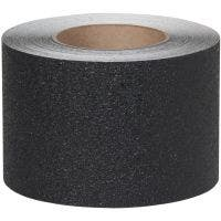 "Flex Track® Coarse Grade Black Anti-Slip Vinyl 4""x60' Roll 3/cs"
