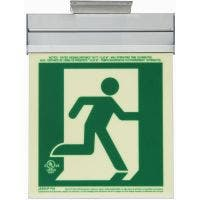 Glo Brite® CAN/ULC-5572 Running Man 5FC Egress Sign (double sided