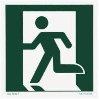 Glo Brite® Running Man left photoluminescent sign