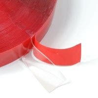 NOVAbond Clear tape with red film liner