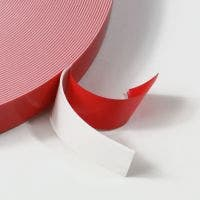 NOVAbond White tape with red film liner