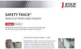 Jessup® Safety Track® Resilient Vinyl Sell Sheet
