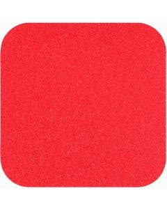 """Safety Track® Commercial Grade Safety Red Anti-Slip Grit 5.5"""" x 5.5"""" Tread 50/cs"""