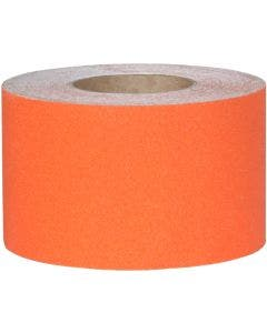 "Safety Track® Commercial Grade Safety Orange Anti-Slip Grit 4"" x 60' Roll 3/cs"