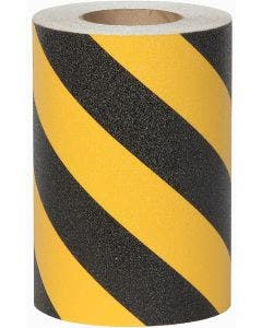 "9"" x 60' Yellow/Black Stripe Roll Jessup®  Griptape Colors"