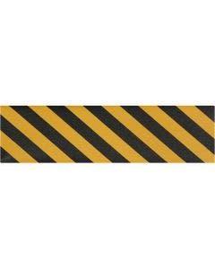 "9"" x 60' Yellow/Black Stripe Sheets Jessup®  Griptape Colors (20 pack)"