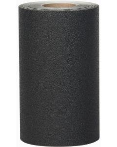 "Safety Track® Heavy Duty Resilient Vinyl Anti-Slip Black 12"" X 60' Roll 1/cs"