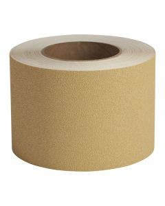 "Flex Track® Fine Grade Sandstone Anti-Slip Vinyl 4""x60' Roll 3/cs"