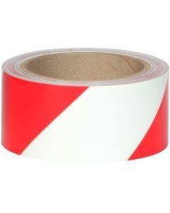 Glo Brite® 7520 Photoluminescent w/Red stripes 2 inch Egress Tape