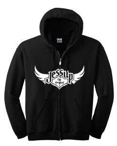 Jessup Adult Hoodie - Black Large