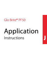 Jessup® Glo Brite® PF50 Exit Sign Application Instructions