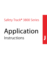 Jessup® Safety Track® Military Grade 3800 Application Instructions