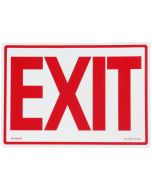 "Glo Brite® ""EXIT"" sign, 14""x10"" Red on Photoluminescent (EG-7520-F-101-RP)"