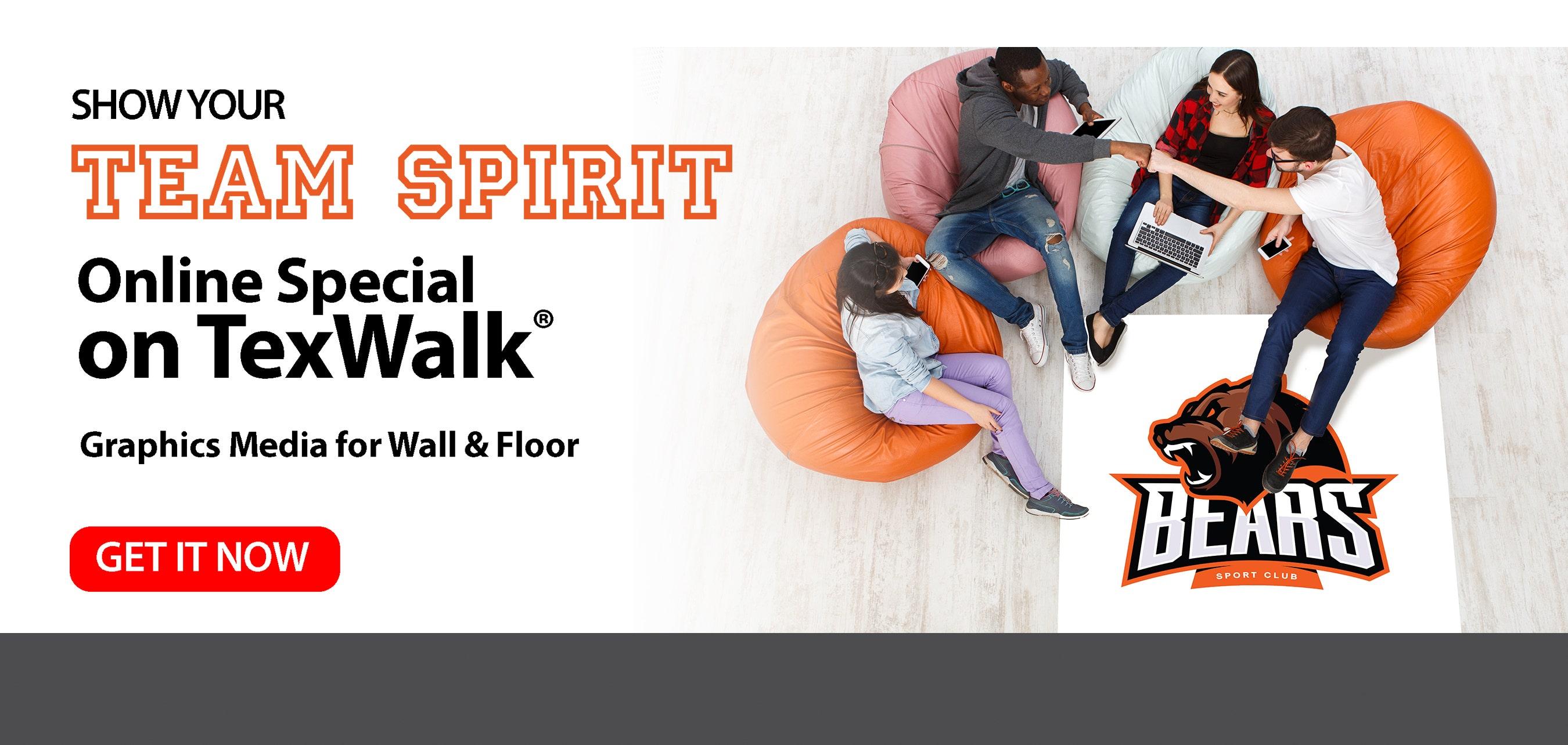 Team Spirit TexWalk