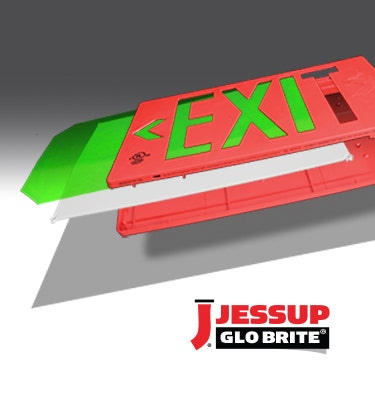 Glo Brite® UL-924, Photoluminescent Exit Signs